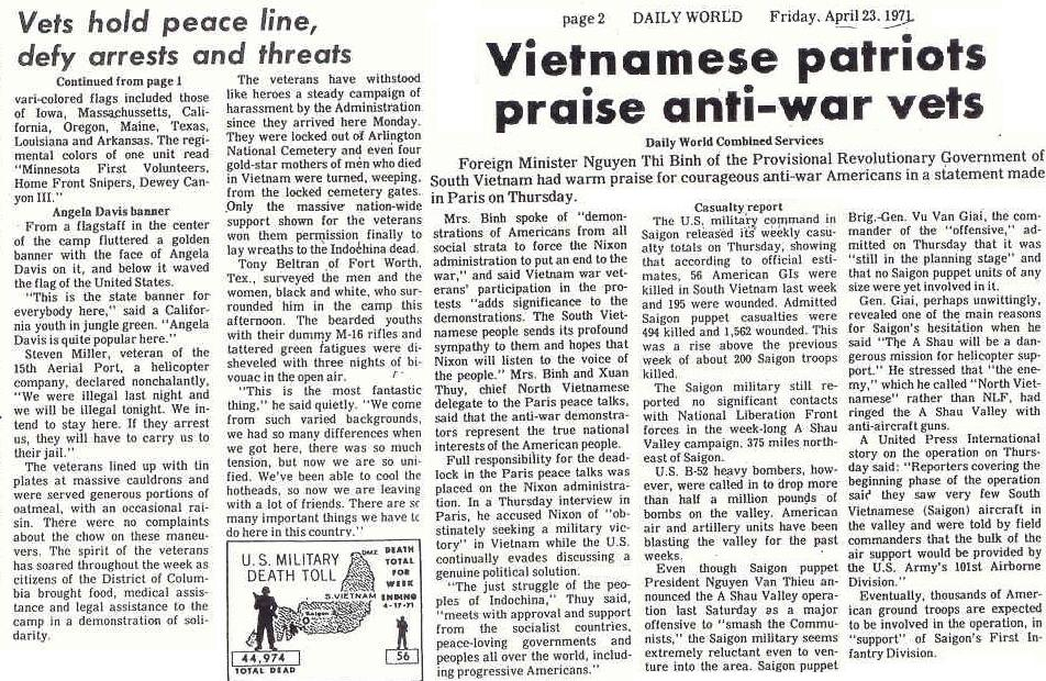 an essay on the antiwar movement against vietnam in the united states This article is keyed to tonight's episode, especially its discussion of how the  increasingly violent anti-war protests in america appeared to be.